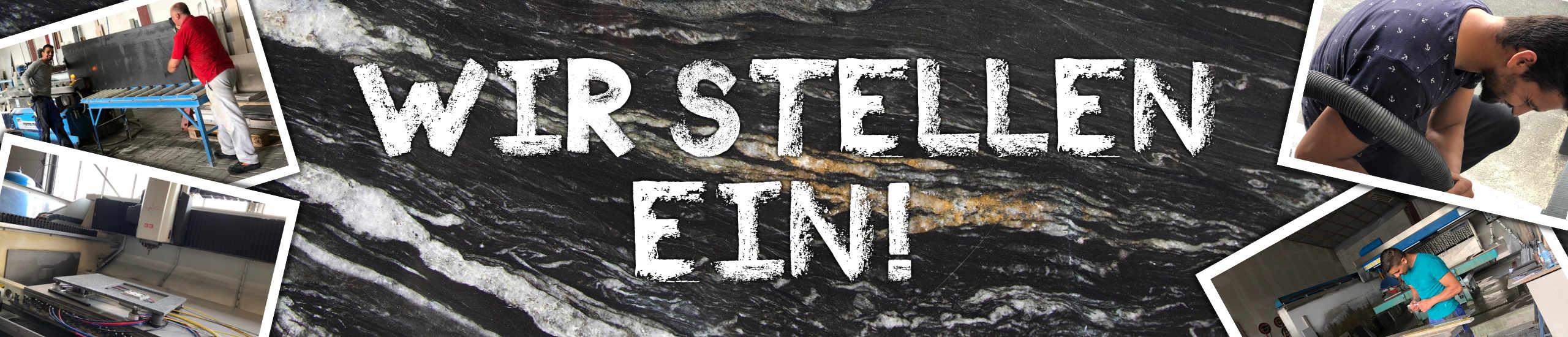 Wir suchen Azubis, die mit Naturstein arbeiten wollen!