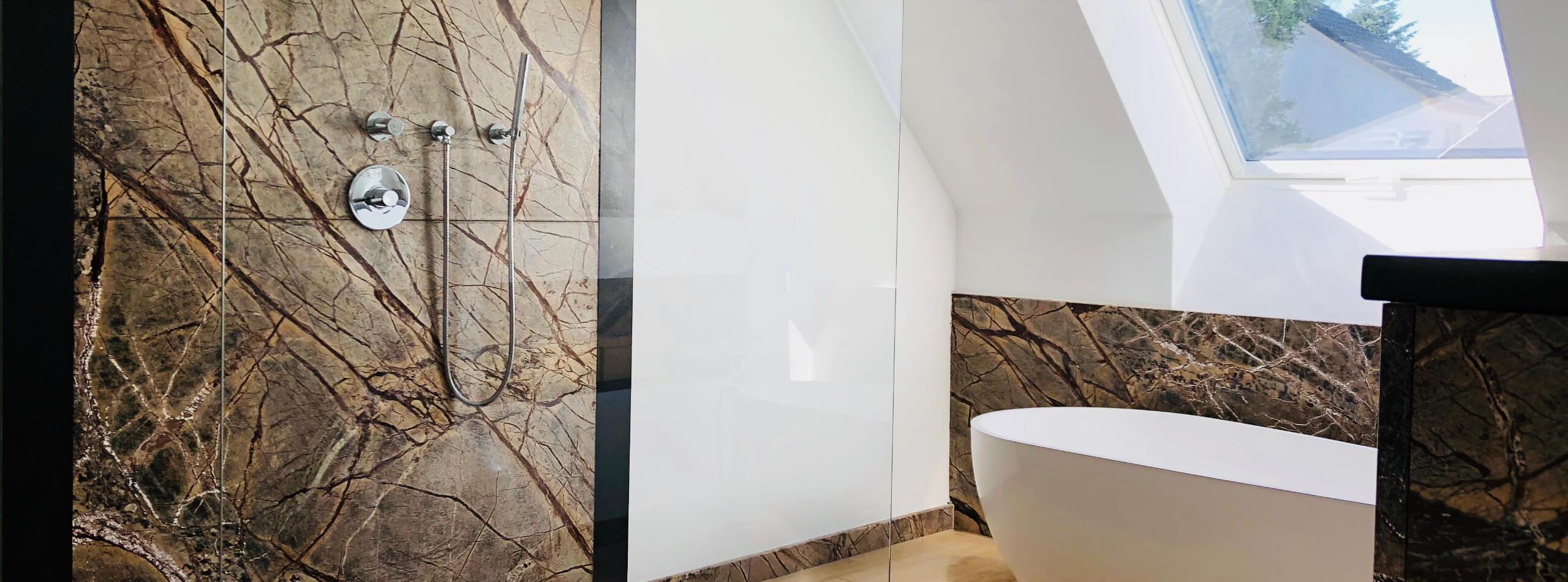 Badezimmer Naturstein